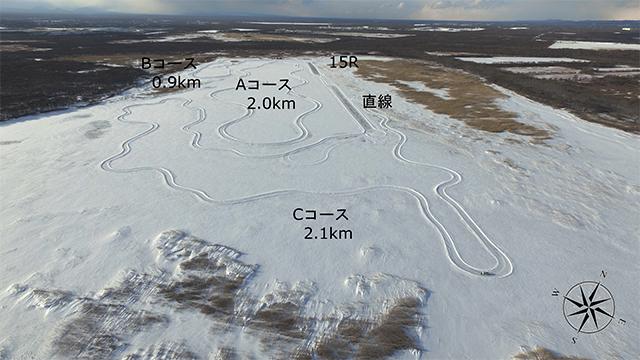 雪上コース