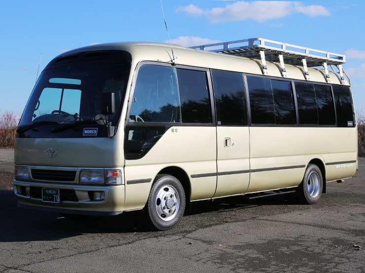 マイクロバス 1号車