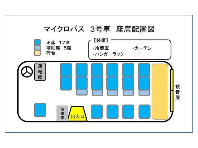 マイクロバス 3号車
